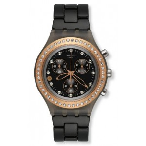 Reloj Swatch Full Blooded stoneheart black