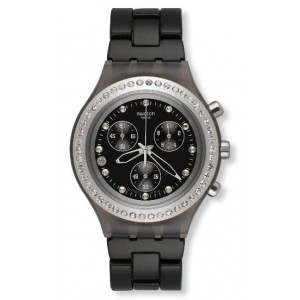 Reloj Swatch Full Blooded stoneheard silver