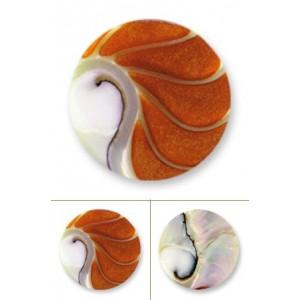 Nautilus deluxe naranja tamaño mediano