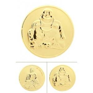 Buddha rodio oro amarillo tamaño pequeño