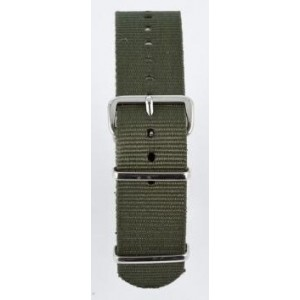 18 MM correa nylon tipo Nato khaki