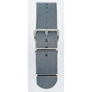 24 MM correa nylon tipo Nato gris