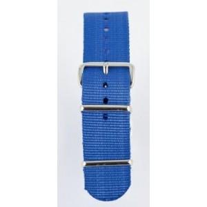 20 MM correa nylon tipo Nato azul