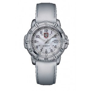 Reloj Luminox Steel Colormark Esfera Blanca 38mm