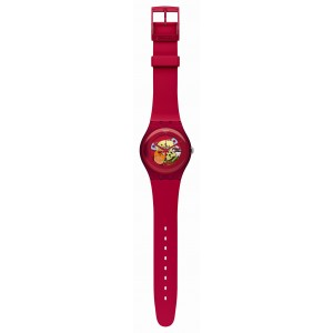 Reloj Swatch Red Lacquered