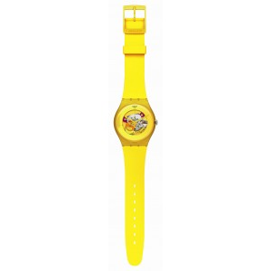 Reloj Swatch Yellow Lacquered