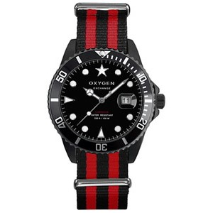 Reloj Oxygen Diver Mobby Dick Black 40mm