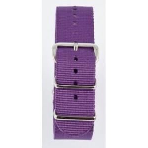 20 MM correa nylon tipo Nato violeta