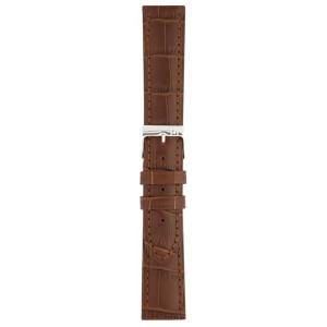 20 MM Correa piel Piero Magli classic Louisiana matte marrón oscuro