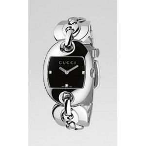 Reloj Gucci Marina Chain 3 Diamantes