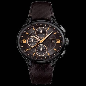 Reloj Davidoff chronograph black dial automatic