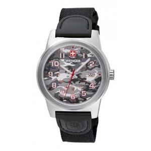 Reloj Wenger Field Classic Color Gris Camuflaje