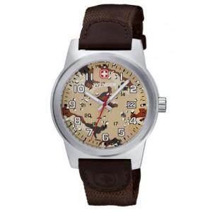 Reloj Wenger Field Classic Color Beige Camuflaje