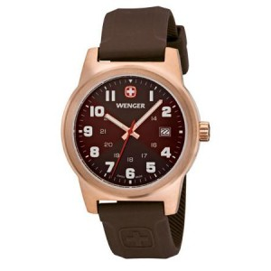 Reloj Wenger Field Classic Color brown dial