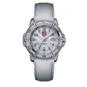 Reloj Luminox Steel Colormark Esfera Blanca 38mm