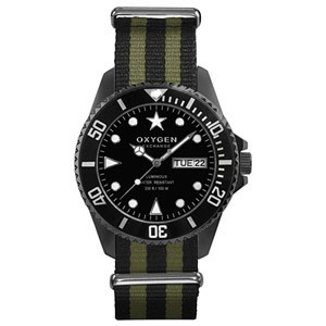 Reloj Oxygen Diver Moby Dick Black 44mm