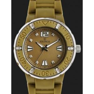 Reloj Kronos colors 40MM zirconitas