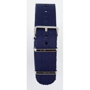 20 MM correa nylon tipo Nato azul marino