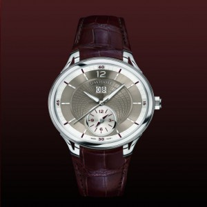 Reloj Davidoff time big date automatic alligator